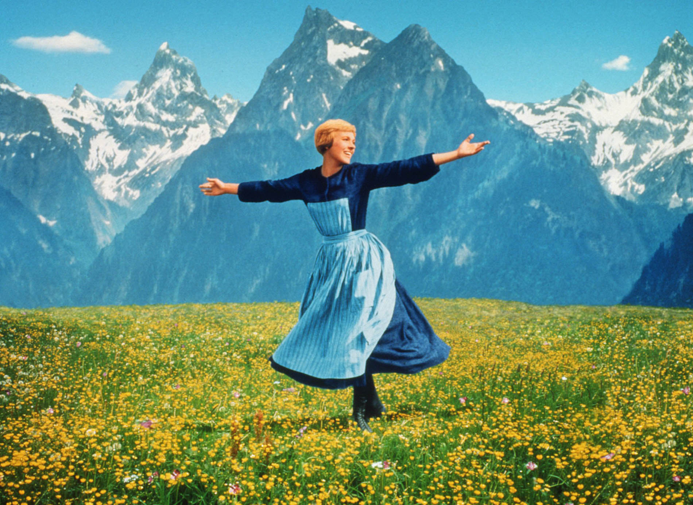 "Julie Andrews appears in the 1965 film ""The Sound of Music.""  (Gannett News Service/Fox Video/File)"