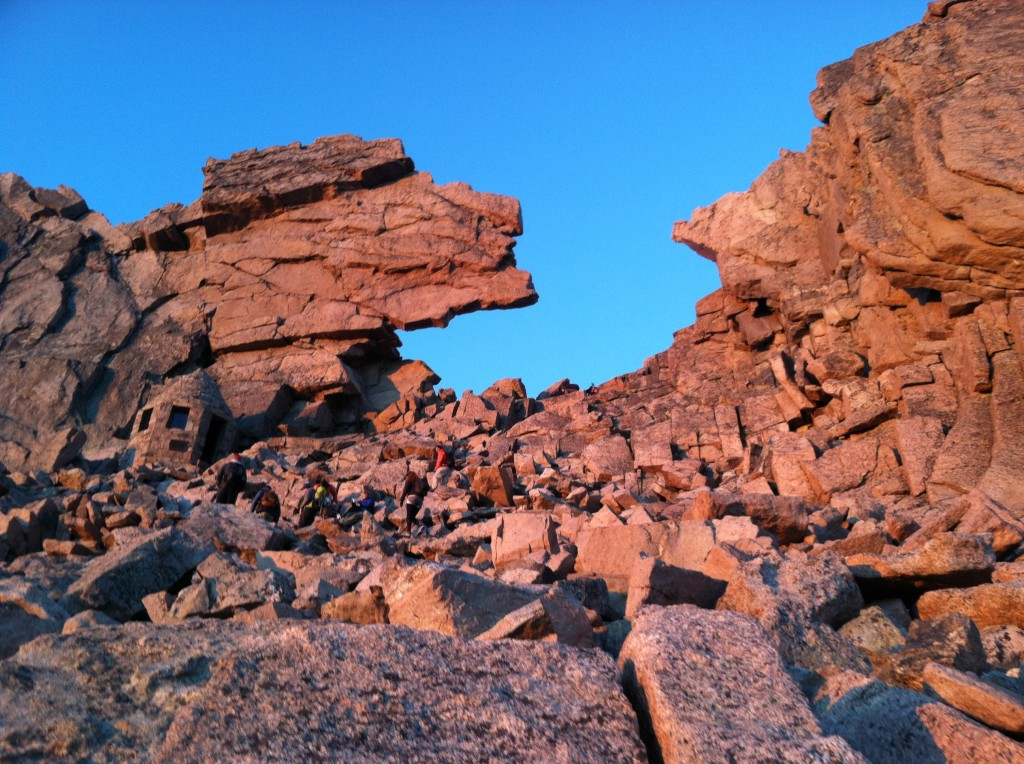 The Keyhole - Longs Peak